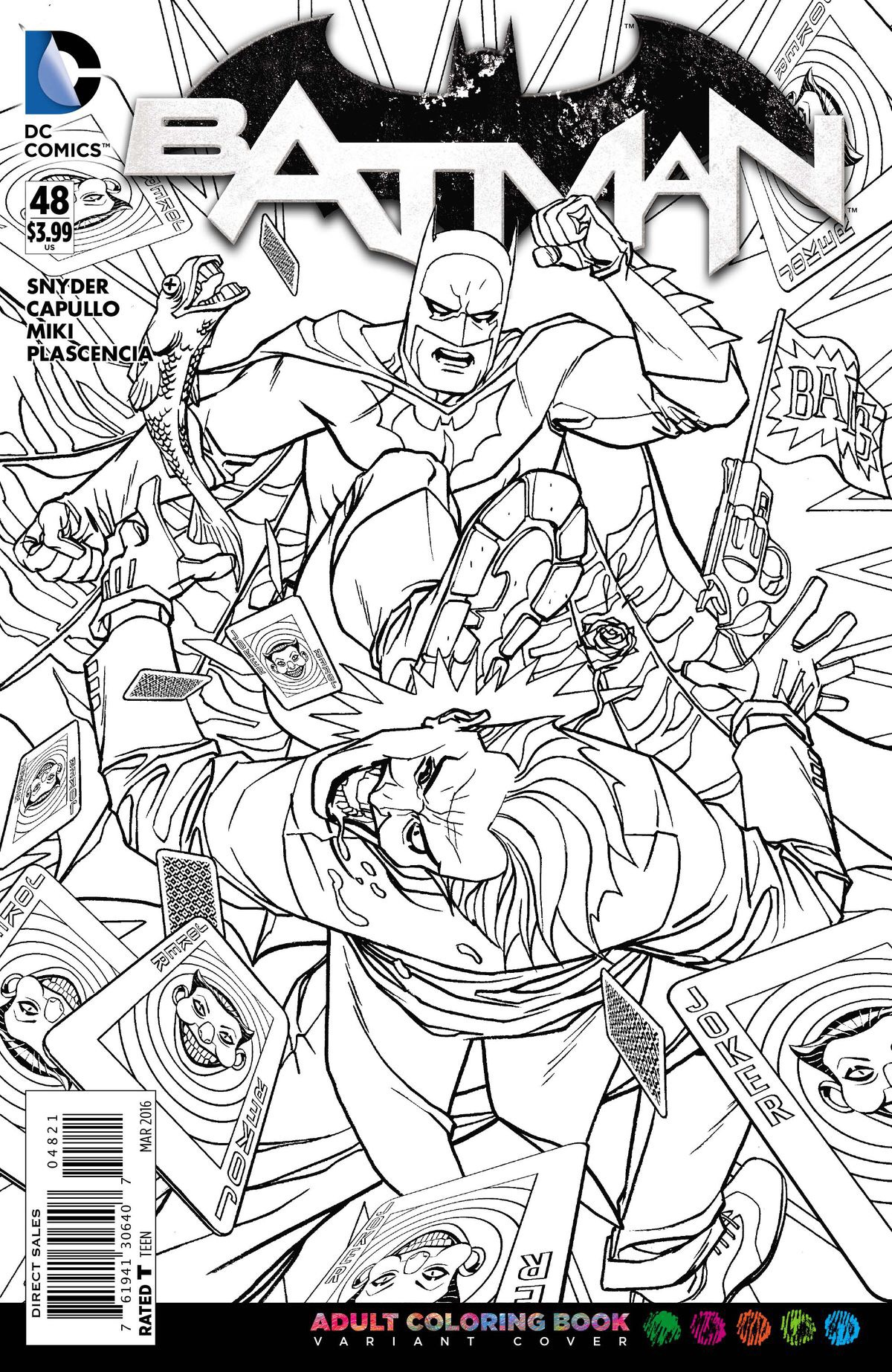 - Get Your Own Signature Series DC Coloring Book