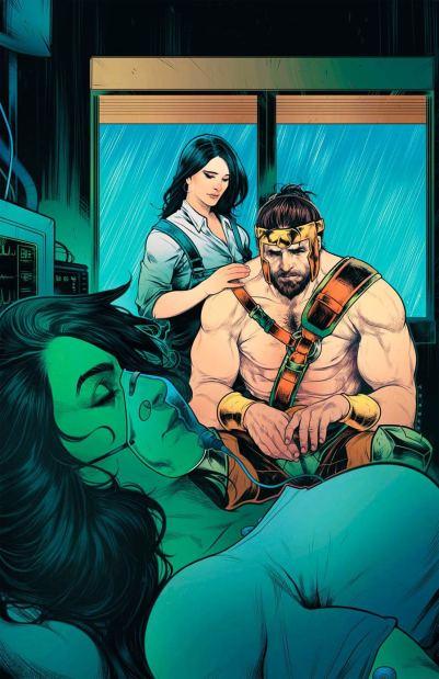 Civil War II Gods Of War #2 Cover B Variant Elizabeth Torque Cover