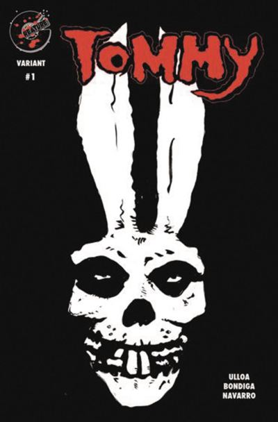 Tommy #1 Cover E Variant Glow-In-The-Dark Cover