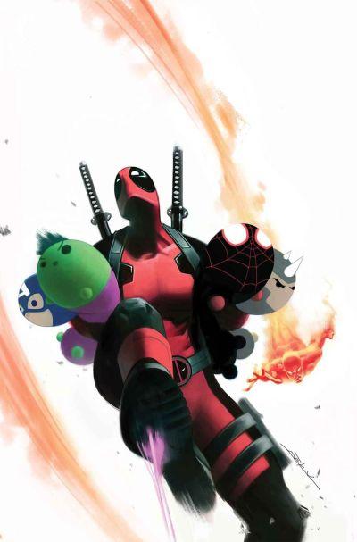 1546239_xlUncanny Avengers Vol 3 #12 Cover B Variant Jeff Dekal Marvel Tsum Tsum Takeover Cover