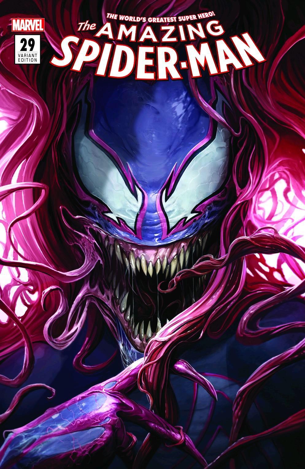 Amazing Spider Man 29 Mattina Venomized Mary Jane